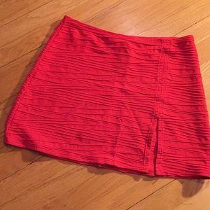 Gottex fabulous fire engine red slit swim cover
